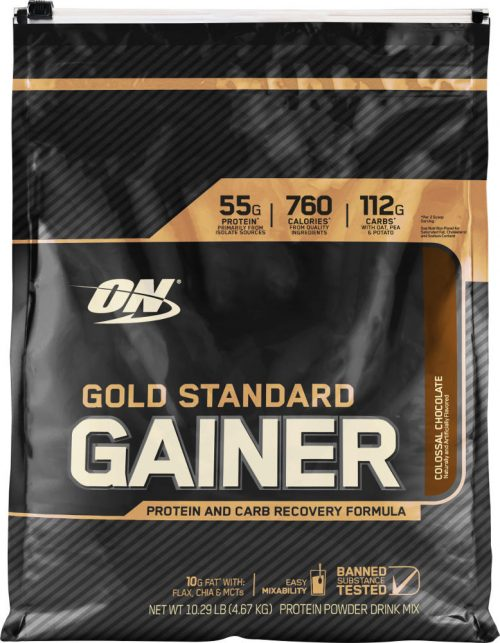 Optimum Nutrition Gold Standard Gainer - 10.14lbs Chocolate