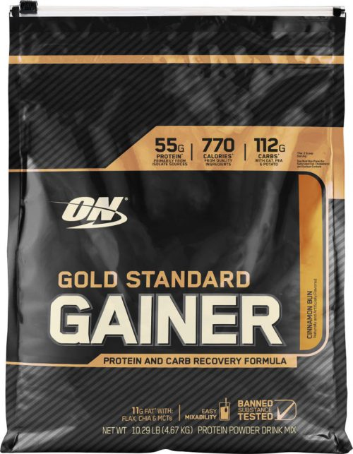 Optimum Nutrition Gold Standard Gainer - 10.14lbs Cinnabun