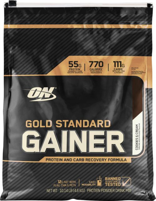 Optimum Nutrition Gold Standard Gainer - 10.14lbs Cookies & Cream