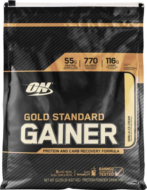 Optimum Nutrition Gold Standard Gainer - 10.14lbs Vanilla