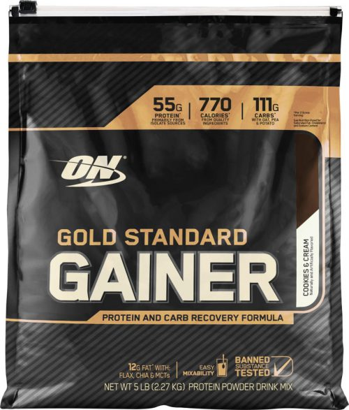 Optimum Nutrition Gold Standard Gainer - 5lbs Cookies & Cream