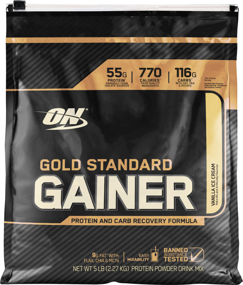 Optimum Nutrition Gold Standard Gainer - 5lbs Vanilla