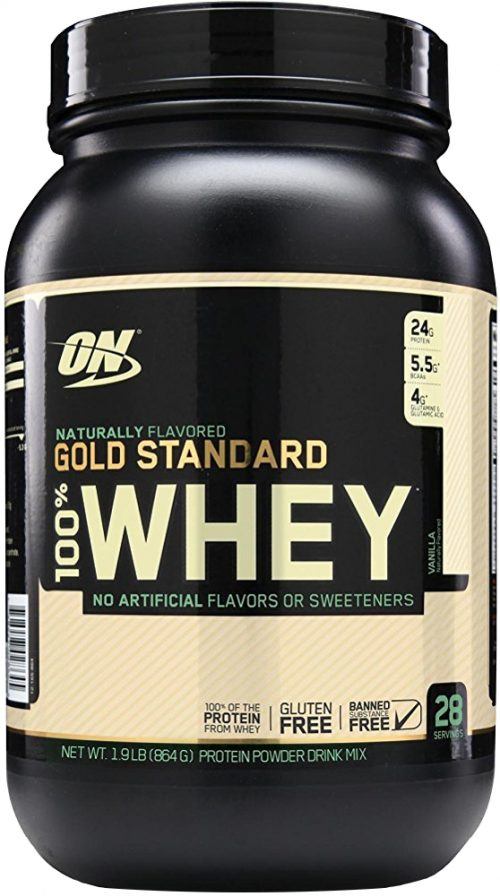 Optimum Nutrition Gold Standard Natural 100% Whey - 1.9lbs Natural Van