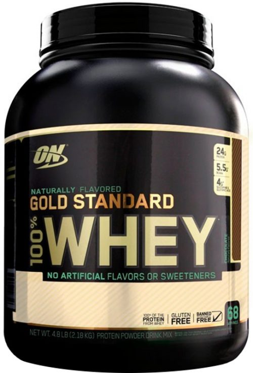 Optimum Nutrition Gold Standard Natural 100% Whey - 4.8lbs Natural Cho