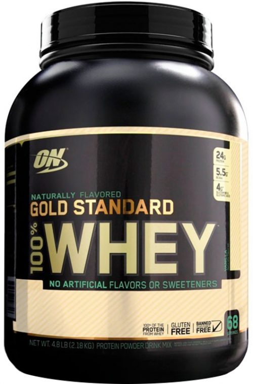 Optimum Nutrition Gold Standard Natural 100% Whey - 4.8lbs Natural Van