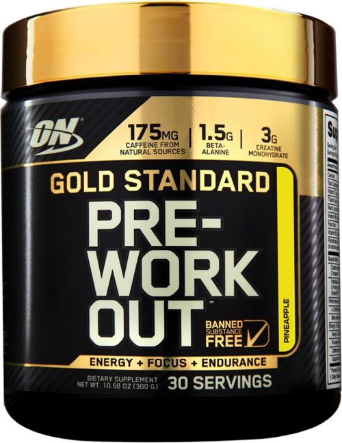 Optimum Nutrition Gold Standard Pre-Workout - 30 Servings Strawberry L
