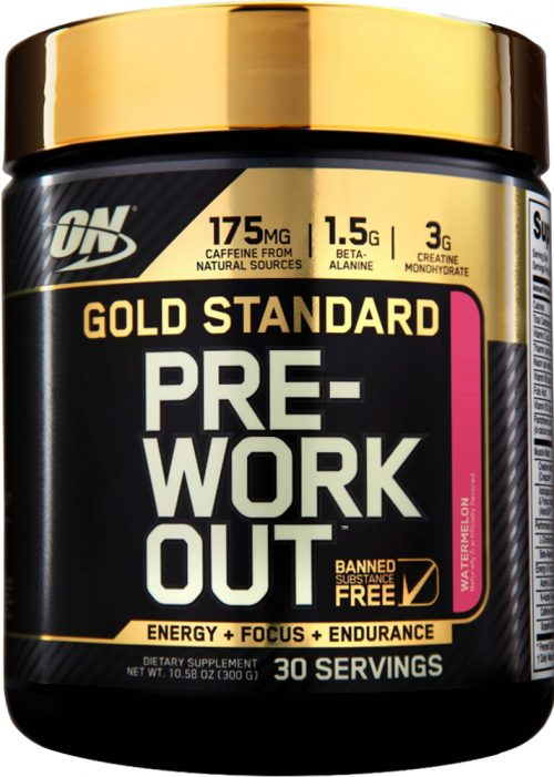 Optimum Nutrition Gold Standard Pre-Workout - 30 Servings Watermelon