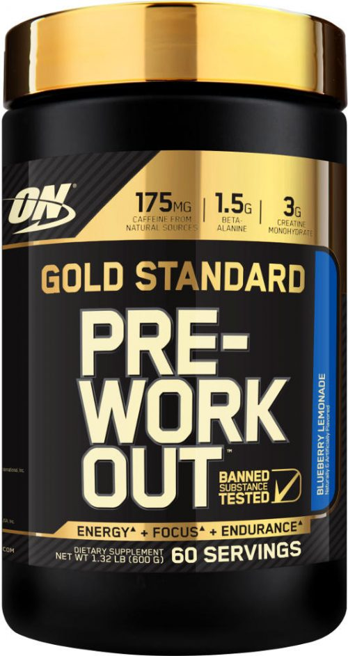 Optimum Nutrition Gold Standard Pre-Workout - 60 Servings Blueberry Le