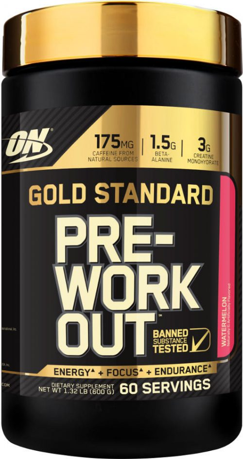Optimum Nutrition Gold Standard Pre-Workout - 60 Servings Watermelon