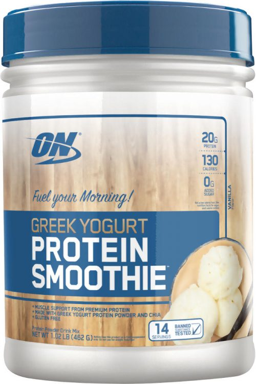 Optimum Nutrition Greek Yogurt Protein Smoothie - 14 Servings Vanilla