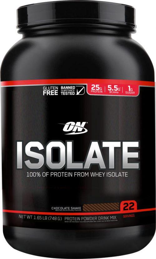 Optimum Nutrition Isolate - 1.65lbs Chocolate Milkshake