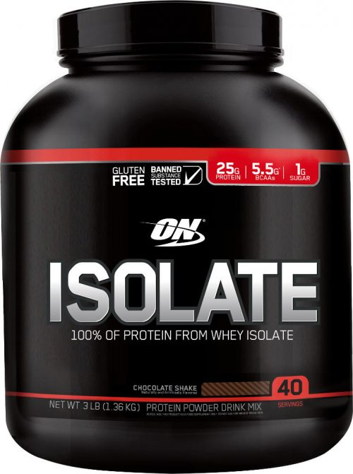 Optimum Nutrition Isolate - 3lbs Chocolate Milkshake