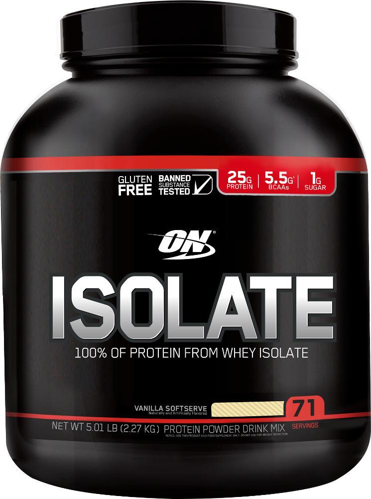 Optimum Nutrition Isolate - 5lbs Snickerdoodle