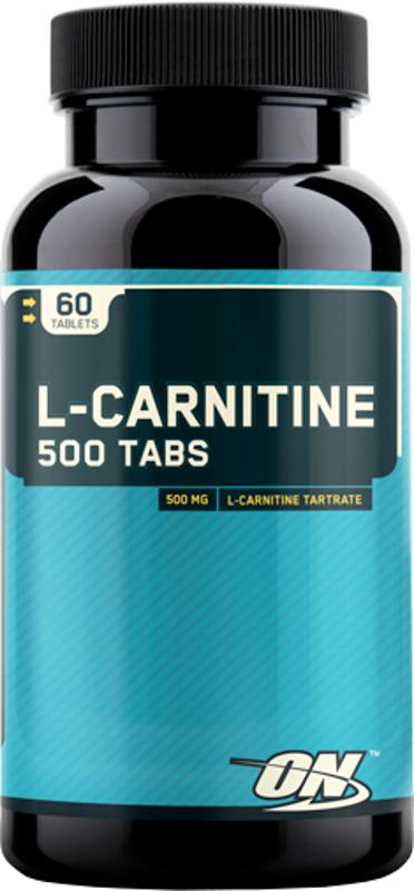 Optimum Nutrition L-Carnitine 500 Tabs - 60 Tablets