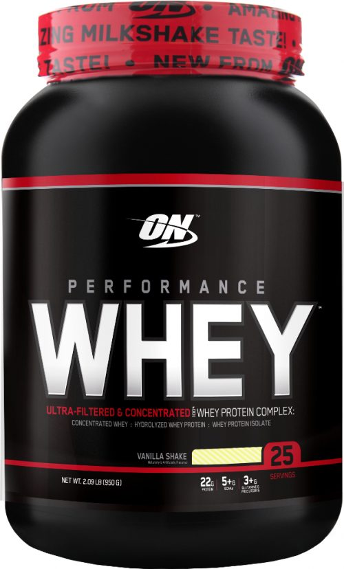 Optimum Nutrition Performance Whey - 25 Servings Vanilla Shake