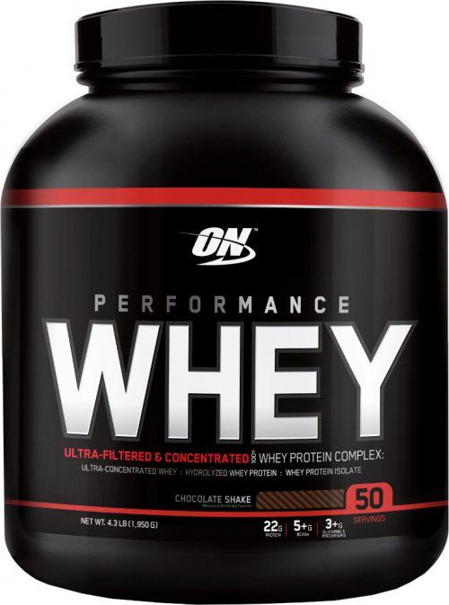 Optimum Nutrition Performance Whey - 50 Servings Chocolate Shake