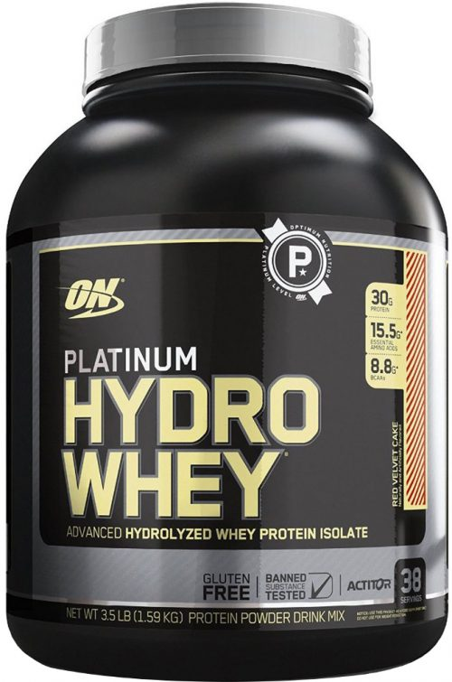 Optimum Nutrition Platinum Hydrowhey - 3.5lbs Red Velvet Cake