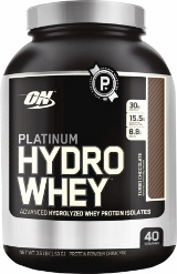 Optimum Nutrition Platinum Hydrowhey - 3.5lbs Supercharged Strawberry