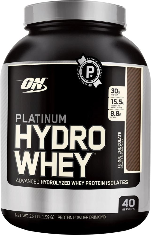 Optimum Nutrition Platinum Hydrowhey - 3.5lbs Turbo Chocolate