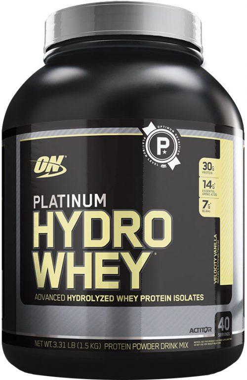 Optimum Nutrition Platinum Hydrowhey - 3.5lbs Velocity Vanilla
