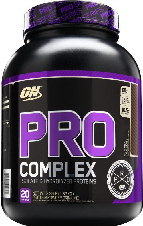 Optimum Nutrition Pro Complex - 3.3lbs Rich Milk Chocolate