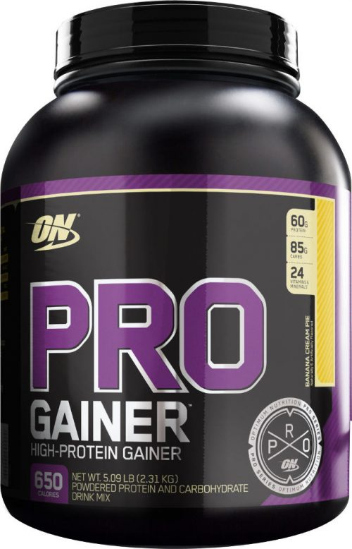Optimum Nutrition Pro Gainer - 5.08lbs Banana Cream Pie