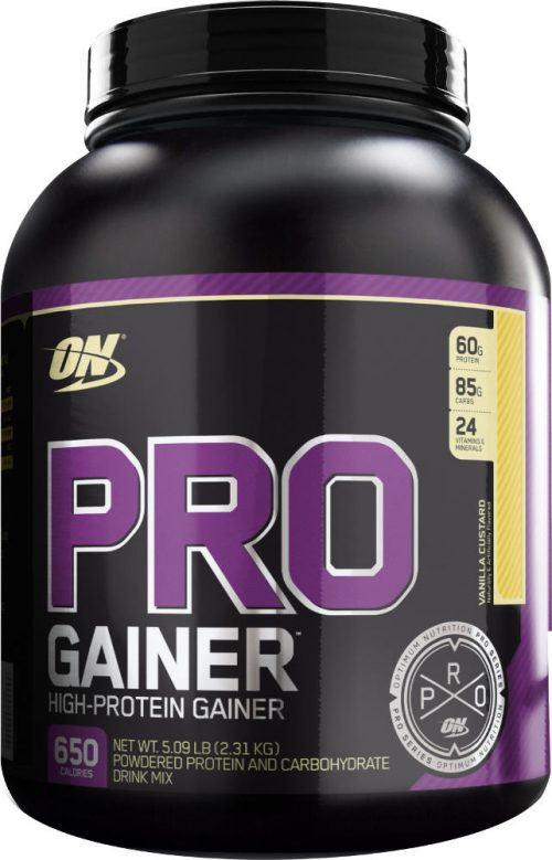 Optimum Nutrition Pro Gainer - 5.08lbs Vanilla Custard