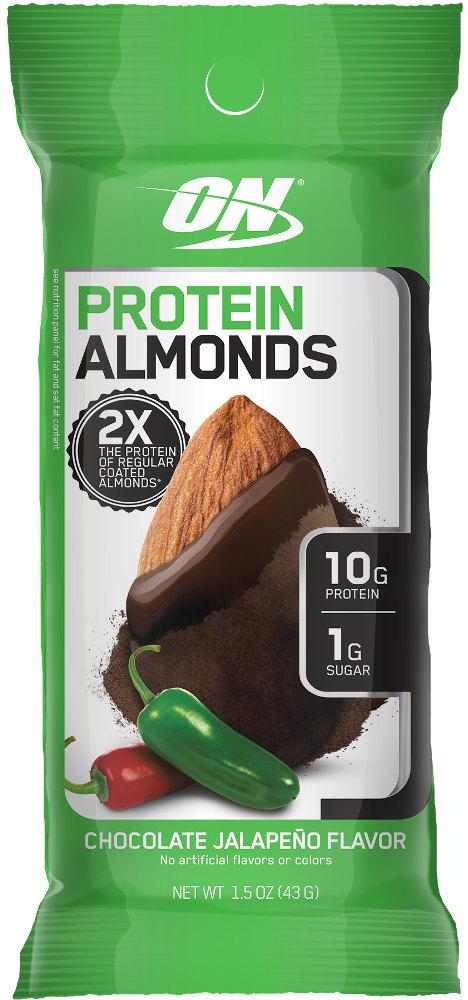 Optimum Nutrition Protein Almonds - 1 Packet Chocolate Jalapeno