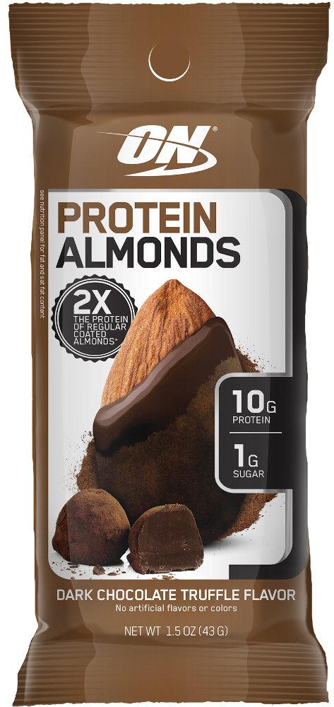Optimum Nutrition Protein Almonds - 1 Packet Dark Chocolate Truffle