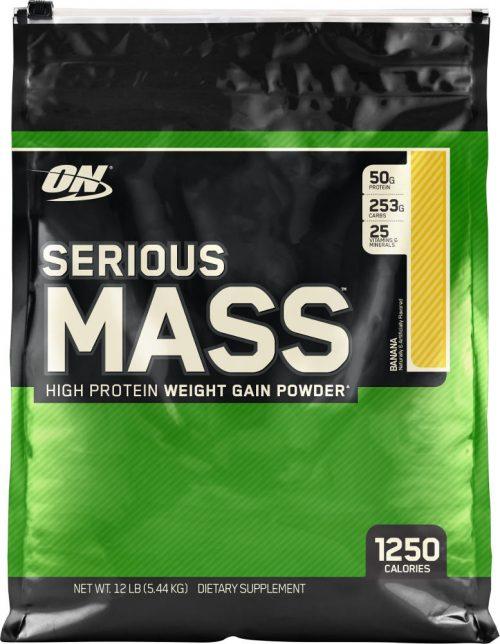 Optimum Nutrition Serious Mass - 12lbs Banana