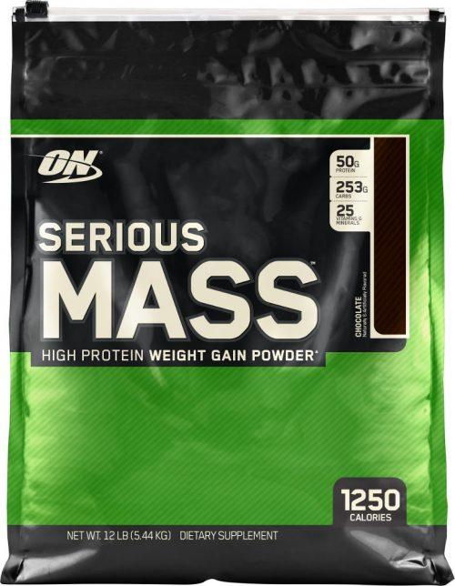 Optimum Nutrition Serious Mass - 12lbs Chocolate