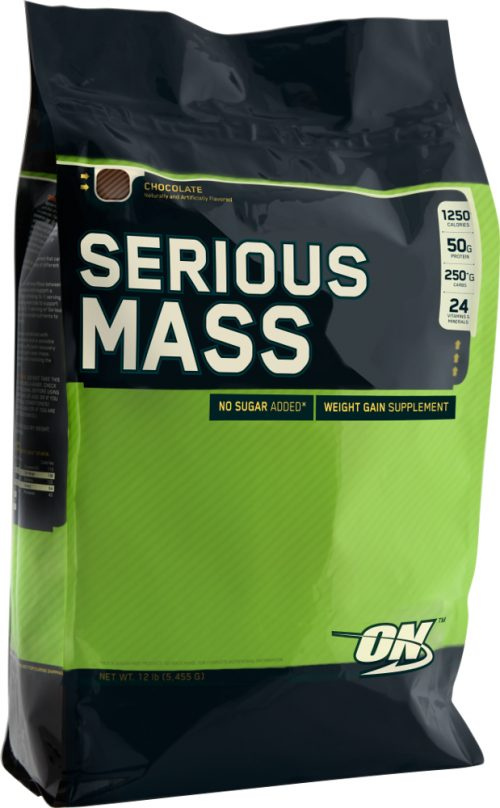 Optimum Nutrition Serious Mass - 12lbs Cookies & Cream