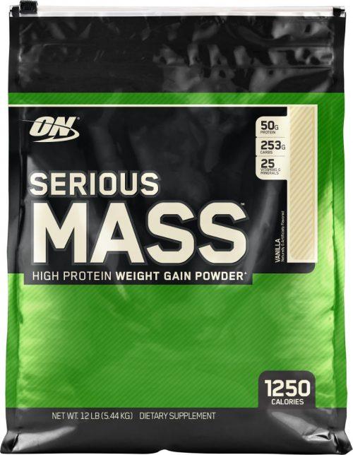 Optimum Nutrition Serious Mass - 12lbs Vanilla