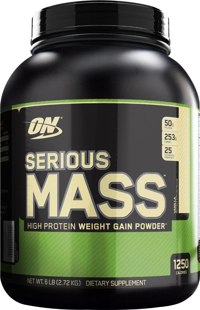 Optimum Nutrition Serious Mass - 6lbs Vanilla