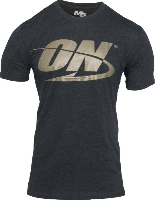 Optimum Nutrition Spinal Crew Neck - Charcoal Large
