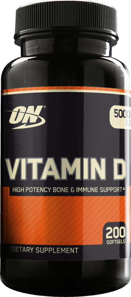 Optimum Nutrition Vitamin D - 200 Softgels
