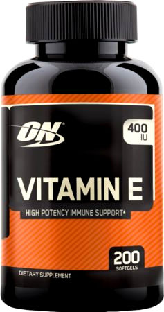 Optimum Nutrition Vitamin E - 200 Softgels