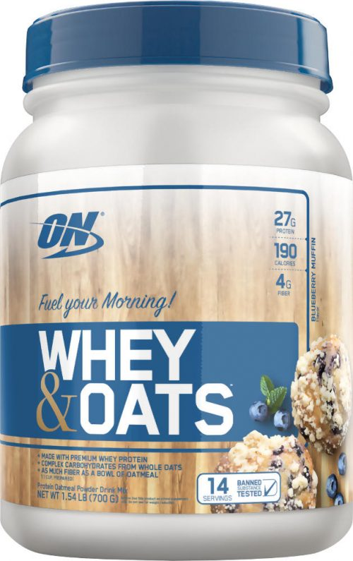 Optimum Nutrition Whey & Oats - 14 Servings Blueberry Muffin
