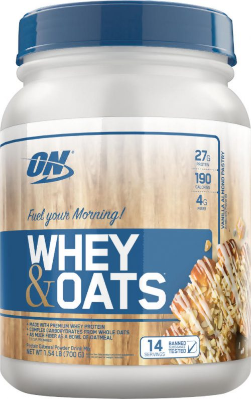 Optimum Nutrition Whey & Oats - 14 Servings Vanilla Almond Pastry