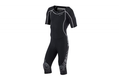 Orca 226 Compression Winter Race Suit - Men's - black/white, medium