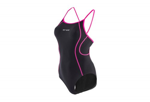 Orca Core One Piece S-Back - Women's - black/neon pink, small