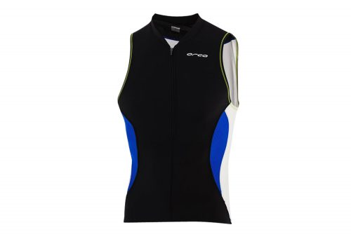 Orca Core Tri Tank - Men's - black/royal blue, small