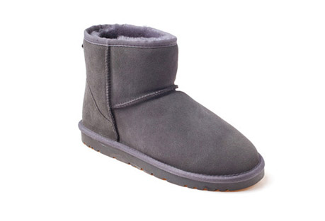 Ozwear Genuine Sheepskin Mini Boots - Women's