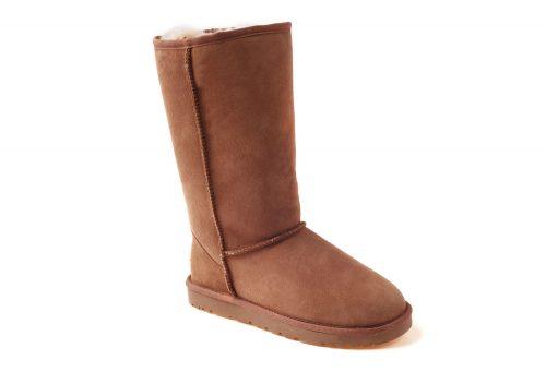 Ozwear Genuine Sheepskin Tall Boots - Women's - chestnut, 10.5-11