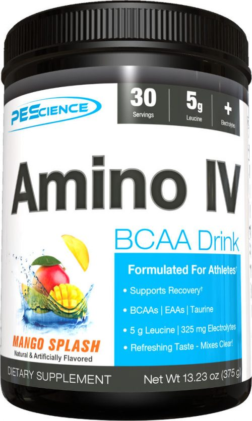 PEScience Amino IV - 30 Servings Mango Splash