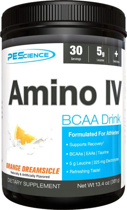PEScience Amino IV - 30 Servings Orange Dreamsicle