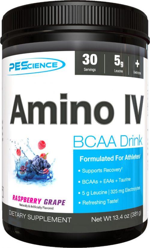 PEScience Amino IV - 30 Servings Raspberry Grape