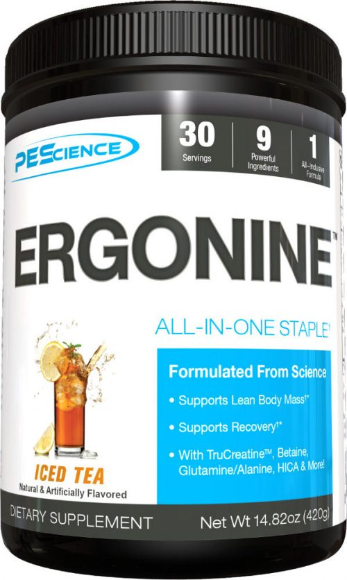 PEScience Ergonine - 30 Servings Iced Tea