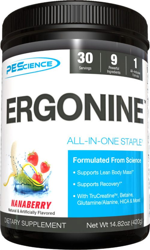 PEScience Ergonine - 30 Servings Nanaberry