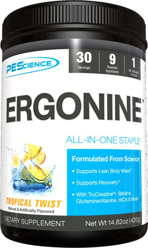 PEScience Ergonine - 30 Servings Tropical Twist